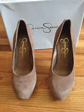 Jessica Simpson Suede Leather Pumps Shoes Heels 36 6