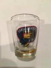 Kanas University Shot Glass
