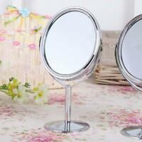 Double Sided Lighted Vanity Makeup Mirror Womens Cosmetic