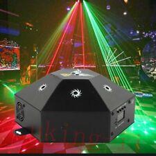 Laser Bühnenlicht  RGB Led 8 Beam Projektor Remote DMX DJ Club Party Show Licht