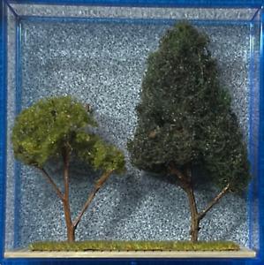 Zthek Z Scale Tree Set for Train Layouts 21007