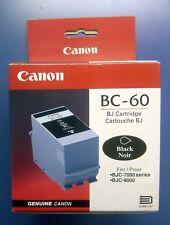 New Genuine Canon BC-60 Black Inkjet Cartridge INK BJC-7000/ 8000