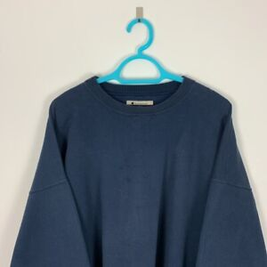 Vintage Champion Navy Crew Neck Sweatshirt