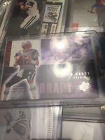 2006 Upper Deck Tom Brady #57 Football Card