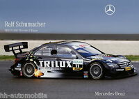 Mercedes Poster C-Klasse DTM 2007 Ralf Schumacher DINA3 Autoposter PKW (Nr. 056)