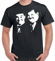 Dick & Doof Comedy Inspired T-Shirt Classic Hollywood Icons Laurel and Hardy Top