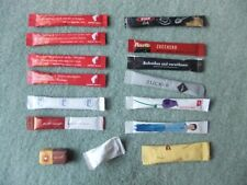 15 verschiedene Zucker, Zuckersticks für Sammler