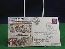 Vintage Fall of France 14 - 21 June Signed FDC D003