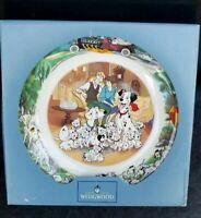 Walt Disney Exclusive Wedgwood 101 Dalmations Collector Plate Bone China W. BOX