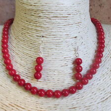 Gemstone Coral Costume Necklaces & Pendants