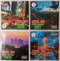 'Urban Explosion' JUMBO 4CD pack R&B, Hip-Hop, Dance, Urban Reggae/Dancehall