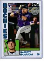 Garrett Hampson 2019 Topps Update 1984 Topps 5x7 #84-1 /49 Rockies