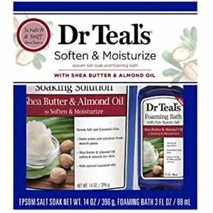 Dr Teals Soften and Moisturize Epsom Salt Soak and Foaming Bath - Shea Butter