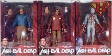 "ASH vs EVIL DEAD 7"" Scale Starz TV Action Figures Set of 3 Series 1 Neca 2016"