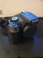 Canon Eos Rebel t7 DSLR camera with 18-55mm lens and 64gb SD card