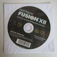 NetObjects Fusion XII, Einfach bessere Webseiten erstellen, OVP, NEU