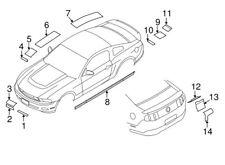 NEW OEM Ford Roof Racing Stripe Left White AR3Z-6320001-FE Mustang GT500 2010-13