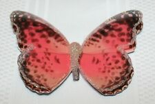 Bath & Body Works 3 D Pink Butterfly 3 Wick Candle Magnet