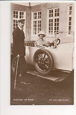Vintage Postcard King Christian X of Denmark & Queen Alexandrine