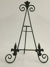 18 INCH BLACK IRON EASEL AA-23 PICTURE ART PHOTO PLATE STAND WEDDING HOLDER REST