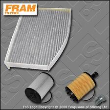 KIT di servizio VW GOLF MK6 2.0 TDi CJAA FRAM Olio Carburante Cabin filtri (2009-2012)