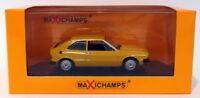 Maxichamps 1/43 Scale Diecast 940 050424 - 1974 Volkswagen Scirocco - Yellow
