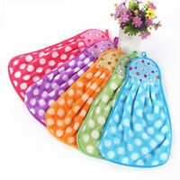 NEW Cute Hanging Hand Towels Bathroom Kitchen Towel  Velvet Absorbent Cloth