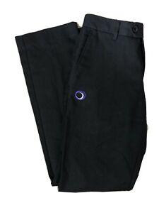 Trutex Outwood Academy Boys Black Trousers Size 28R 28inch Waist Inside Leg 29in