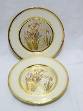 Vintage 2 Japan CHOKIN Traditional Beauty Floral & Butterfly Collector Plates