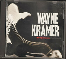 WAYNE KRAMER Dangerous Madness CD NEW * PROMO Related MC5 MC 5