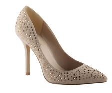 Call It Spring UK 7 Thimbaa Natural Embellished Pointed Court Shoes RRP £55.00