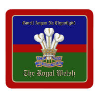 The Royal Welsh - Personalised Mouse Mat
