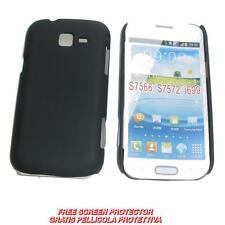 Pellicola + custodia BACK NERA per Samsung Galaxy Trend II 2 Duos S7572 (A1)