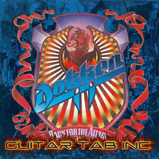 Dokken Guitar Tab BACK FOR THE ATTACK Lessons on Disc