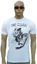Amplified The Clash DRAGÓN ROCK STAR VINTAGE COSIDO Diseñador Camiseta T-shirt
