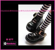 Alice's Shoes, Custom Mary Jane For Blythe/Pullip/Momoko/Obitsu/Dal - B 677,Bk