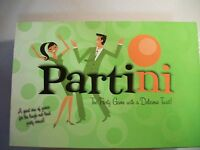 PARTINI THE PARTY GAME WITH A DELICIOUS TWIST 6 GAMES  BOX ADULT BOARD GAME