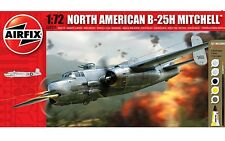 Airfix North American B-25H Mitchell W/ Glue, Paints,& Brush 1:72 Model A68209M
