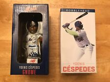 Yoenis Cespedes New York Mets Gnome 5/5/18 & Bobblehead 8/19/17