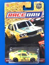 2017 Hot Wheels Car Culture RACE DAY JDM 1973 MAZDA RX-3 - Mint on card!