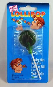 Fish Candy Lollipop - Watch the Fun When You Offer This Candy To Your Victim!