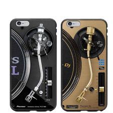 Funda Giradiscos DJ  Platos - 2 MODELOS - PARA TODOS LOS MOVILES IPHONE !