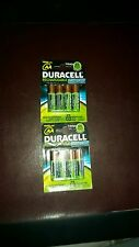 8 x Duracell AA 1950 mAh PRE/ STAY CHARGED Rechargeable Batteries NiMH HR6 phone