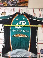 Descente Health Net Mens Cycling Jersey Size Medium M (4236)