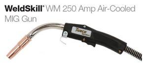 Tweco MIG Gun  25FT  1027-1023   250 Amp Up to .045 for Miller Back-End