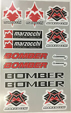 marzocchi sticker sheet decals graphics Mountain Bike Downhill MTB bomber forks