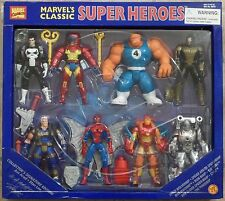Marvel's Classic Super Heroes Collector's Signature Edition Set of 8 MISB ToyBiz