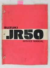 1977-1978 Suzuki JR50 Minibike Motorcycle Shop Service Repair Manual OEM Book 78