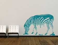 Zebra - highest quality wall decal sticker