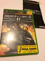 😍 boitier boite vide jeu pal fr xbox 1 ere generation soldier of fortune 2 heli